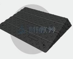 Пандус приставной модульный ТРИАН-100 (для порогов 30 - 100 мм)