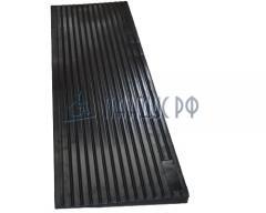 Пандус резиновый РУБИКОН 20х1000х160 мм  (для порогов 20 мм)