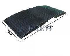 Пандус резиновый перекатной РУБИКОН (для порогов 0 - 50 мм)