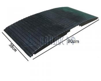 Пандус резиновый перекатной РУБИКОН (для порогов 0 - 80 мм)